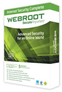 WEBROOT INTERNET SECURITY COMPLETE